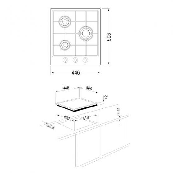 Варочная панель Longran FH4510