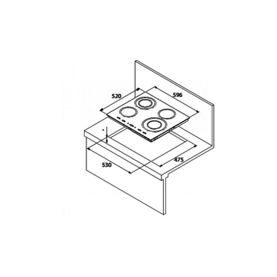 Электрическая варочная поверхность KUPPERSBERG FA6IF C