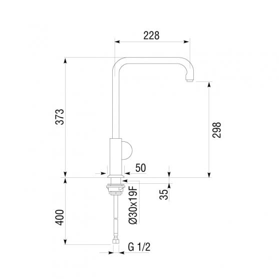 Смеситель Longran AG G61101