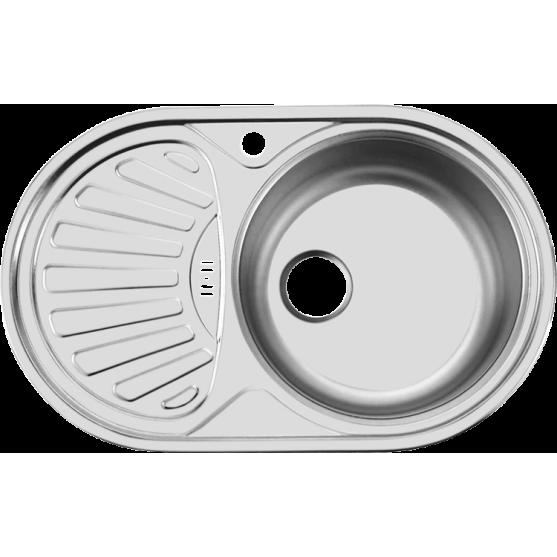 Мойка Ukinox Favorit FAL 770.480 GW8K