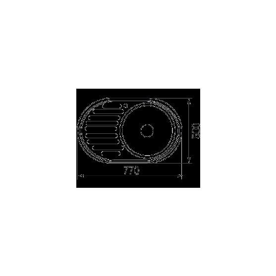 Мойка EMAP 7750 полированная
